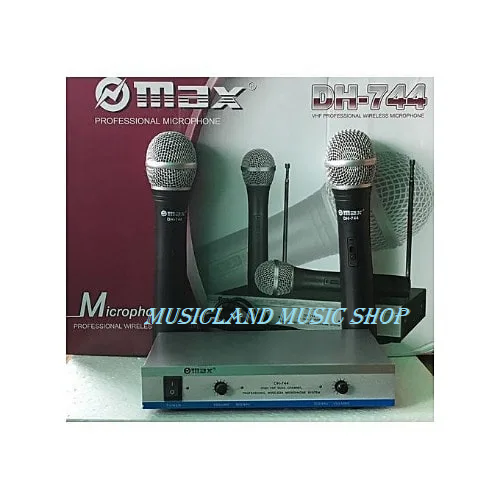 Max wireless microphone DH 744
