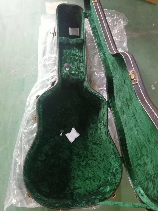 guitar hard case bag with locks
