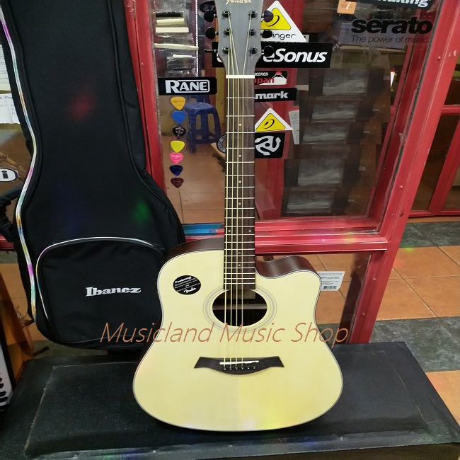 Fender high end semi acoustic guitar