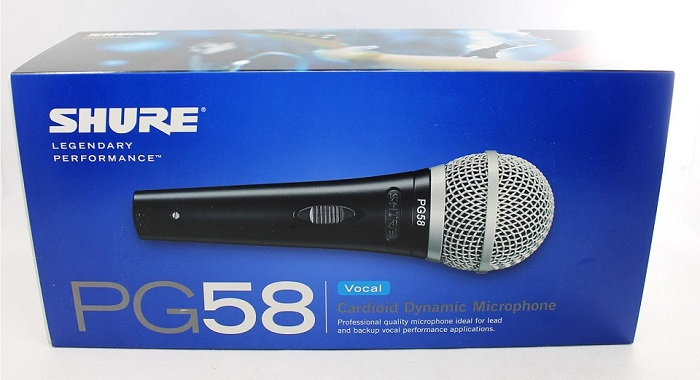 Shure PG58 wire microphone