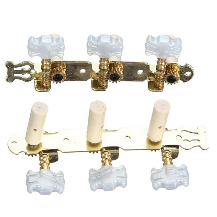 Classical guitar turnng pegs