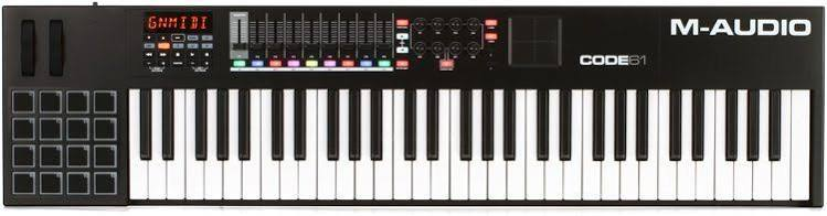 M audio midi keyboard