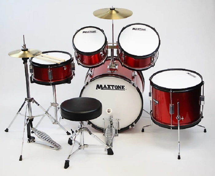 Maxtone 5Pc. Junior Drum Set
