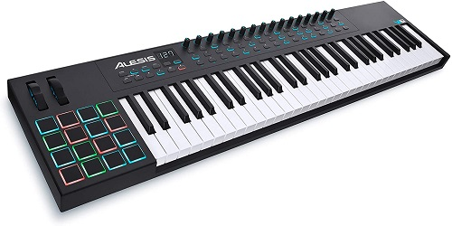 Alesis VI61 61-Key USB MIDI Controller with 16 Pads